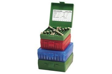 MTM 100 Round 9MM/380 Green Pistol Ammo Box P100910