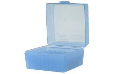 MTM 100 Round Blue Small Rifle 17/223 Caliber Ammo Box RS10024