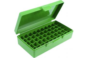 MTM 50 Round 45ACP/10MM Green Ammo Box P504510