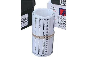 MTM Adhesive Paper Ammo Identification Labels LLS