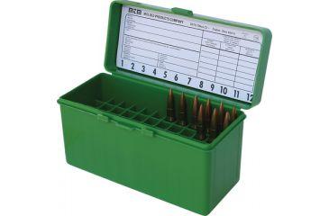 MTM Case-Gard 60 .220 Swift to .458 Winchester Green RL-60-10