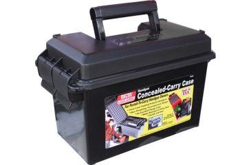 1-MTM Handgun Concealed-Carry Case Black HCC-40