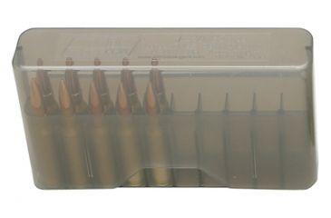 MTM J-20 Slip-Top Boxes .300 to 7mm Magnum Caliber Clear Smoke J-20-LLD-41