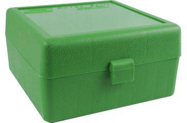 MTM RM-100 Rifle Ammo Box .22-250/.308/.243 Green