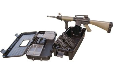 MTM Tactical Range Box Black