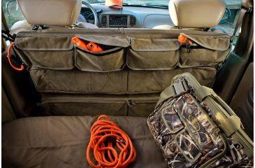 5-Mud River Truck Seat Organizer w/Velcro Pockets