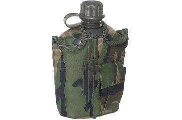 Mustang Camo Fabric Covered Canteen, 1 Qt. FP13624