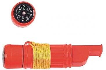 Mustang Emergency Whistle w/Mirror & Compass, Waterproof FP13813