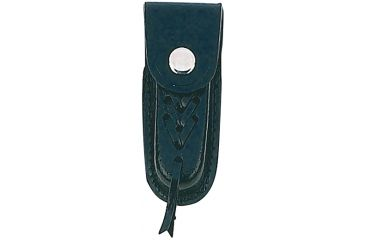 Mustang Leather Sheath, Fits 3.50 to 4.00 in., Black FP15544