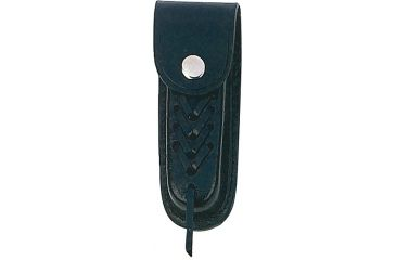 Mustang Leather Sheath, Fits 4.50 to 5.00 in., Black FP15545