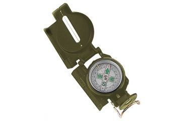 Mustang Military Marching Compass w/Carrying Case FP15633