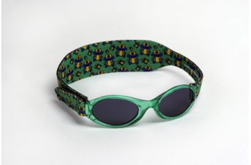 Real Kids Shades 0-24 Months My First Shades Sunglasses - Green Frogs Shades w/ Adjustable Band 024GRNFROGS