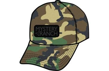 13e5159d Mystery Ranch Mystery Snap Back Hat - Mens, Woodland, One Size 888564167519