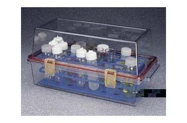 Nalge Nunc Bio-Safe Carrier, Polycarbonate, NALGENE 7136-0001 Stainless Steel Handle