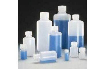 Nalge Nunc Boston Round Bottles, High-Density Polyethylene, Narrow Mouth, NALGENE 2002-9125