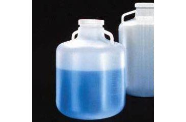 Nalge Nunc Carboys with Handles, Wide Mouth, Low-Density Polyethylene, NALGENE 2234-0050