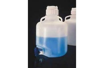 Nalge Nunc Carboys with Spigot and Handles, Low-Density Polyethylene, NALGENE 2318-0130