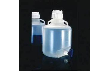 Nalge Nunc Carboys with Spigot and Handles, Polypropylene, NALGENE 2319-0050