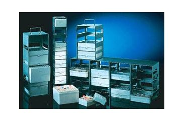 Nalge Nunc Cryobox Rack Horiz 4-SHELF 5038-4422