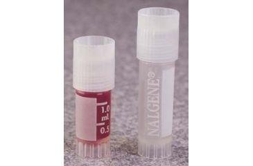 Nalge Nunc Cryogenic Vials, Polypropylene, Sterile, External Thread with Screw Cap, NALGENE 5000-0012