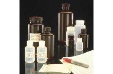 Nalge Nunc Environmental Sample Bottles, High-Density Polyethylene, NALGENE DS2185-0004 Amber, Wide Mouth