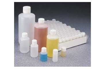 Nalge Nunc High-Density Polyethylene Bottles, Sterile, Narrow Mouth, NALGENE 342002-9025