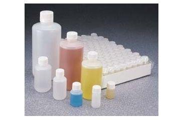 Nalge Nunc High-Density Polyethylene Bottles, Sterile, Narrow Mouth, NALGENE 342089-0008