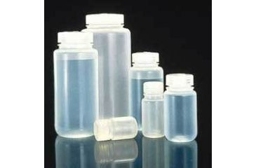Nalge Nunc Laboratory Bottles, Polypropylene, Wide Mouth, NALGENE 2105-0002