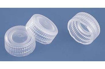 Nalge Nunc Low-Profile Closures for NALGENE Micro Packaging Vials, PPCO, NALGENE 362821-0112