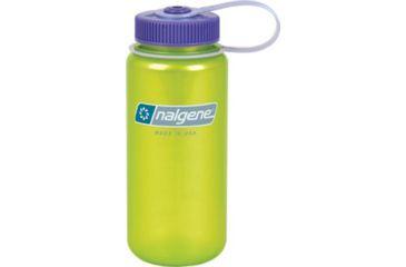 Nalgene Tritan 16 oz. with M Cap, Key Lime with Purple 703037