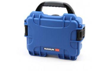 Nanuk 903 Hard Plastic Waterproof Case, Blue 903-0008