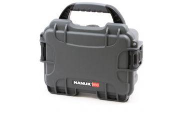 Nanuk 903 Hard Plastic Waterproof Case, Graphite 903-0007