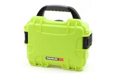 Nanuk 903 Hard Plastic Waterproof Case, Lime 903-0002