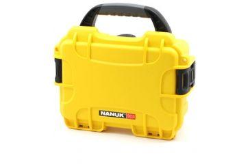 Nanuk 903 Hard Plastic Waterproof Case, Yellow 903-0004