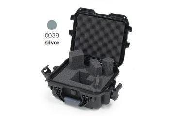 Nanuk 905 Case, Silver w/Cubed Foam