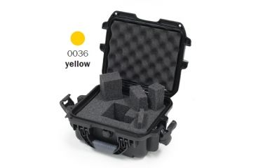 Nanuk 905 Case, Yellow w/Cubed Foam