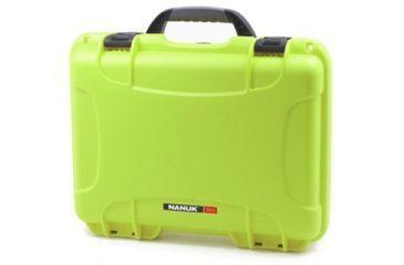 Nanuk 910 Hard Plastic Waterproof Case, Lime 910-0002