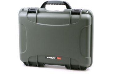 Nanuk 910 Hard Plastic Waterproof Case, Olive 910-0006