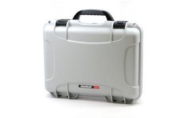 Nanuk 910 Hard Plastic Waterproof Case, Silver 910-0005