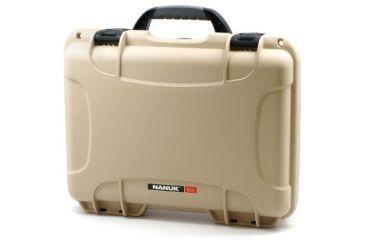 Nanuk 910 Hard Plastic Waterproof Case, Tan 910-0000