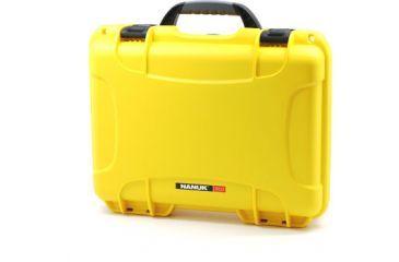 Nanuk 910 Hard Plastic Waterproof Case, Yellow 910-0004