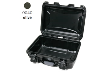 Nanuk 915 Case, Empty, Open, Olive