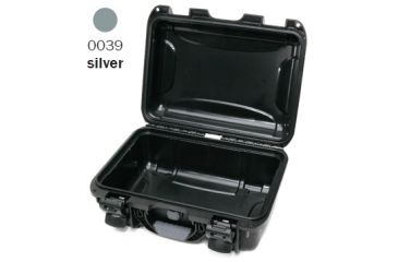 Nanuk 915 Case, Empty, Open, Silver