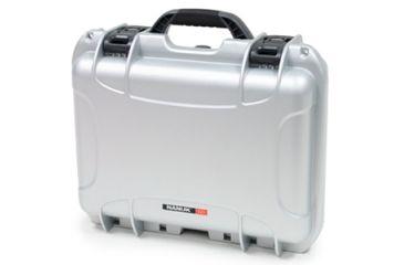 Nanuk 925 Case, Closed, Silver, Main