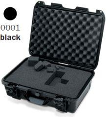 Nanuk 925 Case, Open, Black w/Cubed Foam