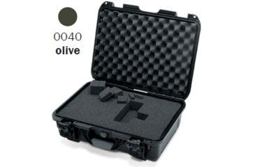 Nanuk 925 Case, Open, Olive w/Cubed Foam