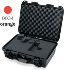 Nanuk 925 Case, Open, Orange w/Cubed Foam