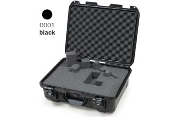 Nanuk 930 Case, Open, Black w/Cubed Foam