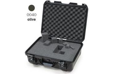 Nanuk 930 Case, Open, Olive w/Cubed Foam