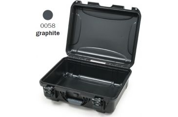 Nanuk 930 Case, Empty, Open, Graphite